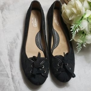 COACH JANELLE SIGNARURE SHOES SIZE 10
